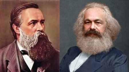 Imagen de Carlos Marx y Federico Engels