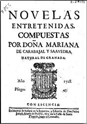 Imagen de Mariana de Carvajal y Saavedra